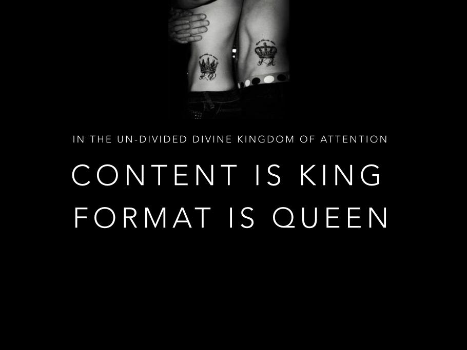 Format Is Queen - Maya Elhalal Levavi